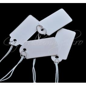 Etichete pret albe fir elastic 26x15 mm (100buc)