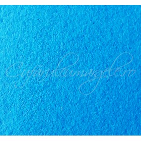 Foaie fetru grosime 1mm albastru azur 293x205mm