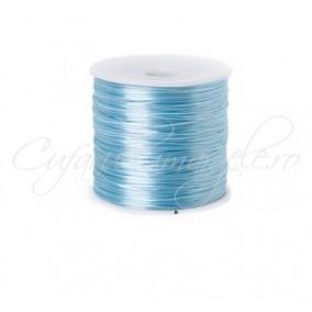 Guta elastica Crystal String fir compus 0.8 mm bleu 50m