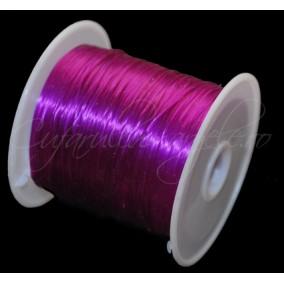 Guta elastica lucioasa fir plat violet 0.8mm rola 10m