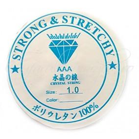 Guta elastica transparenta Crystaline 1.0 mm