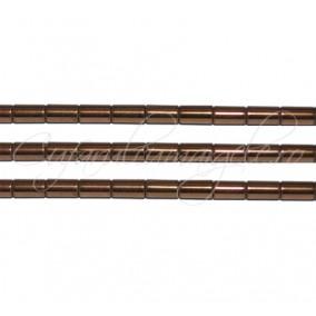 Hematit cilindric maro 4x2 mm