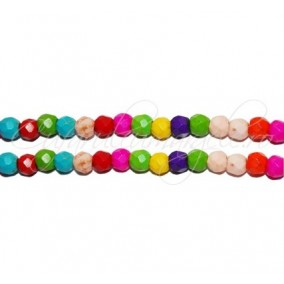Howlit multicolor sferic fatetat 4mm sirag