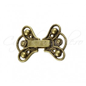 Inchizatoare decorativa funda bronz 22 mm