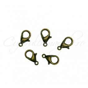Inchizatori lobster bronz 12x7 mm