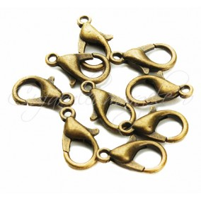 Inchizatori lobster bronz 14x8 mm