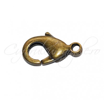 Inchizatori lobster bronz 16x8 mm