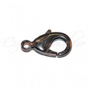 Inchizatori lobster gun metal 16x8 mm