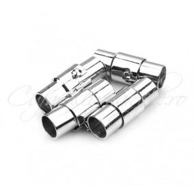 Inchizatori magnetice snur rotund 5mm inox 17x7mm