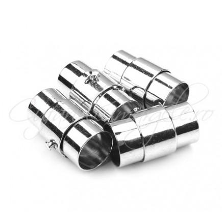Inchizatori magnetice snur rotund 6mm inox 18x8mm