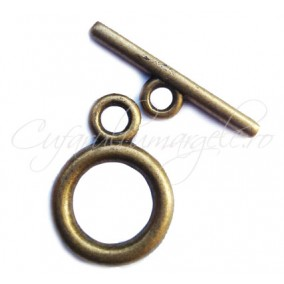 Inchizatori toggle bronz 20x14mm