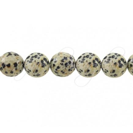 Jasp dalmatian sferic nefatetat 10 mm