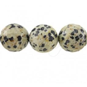 Jasp dalmatian sferic nefatetat 14 mm