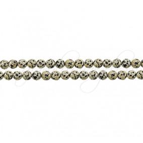 Jasp dalmatian sferic nefatetat 4 mm