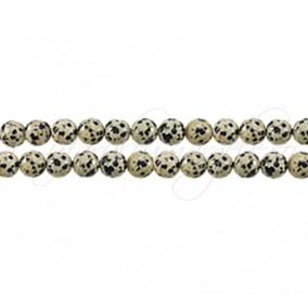 Jasp dalmatian sferic nefatetat 6 mm
