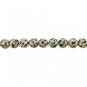 Jasp dalmatian sferic nefatetat 8 mm