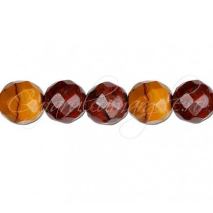 Jasp mookait sferic fatetat 10 mm