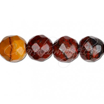 Jasp mookait sferic fatetat 12 mm