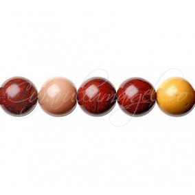 Jasp mookait sferic nefatetat 10 mm