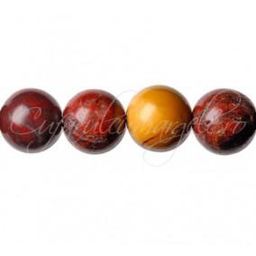 Jasp mookait sferic nefatetat 12 mm