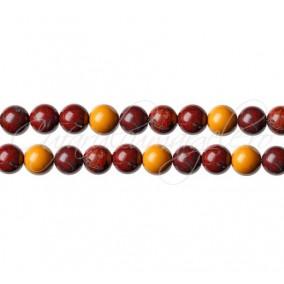Jasp mookait sferic nefatetat 4 mm