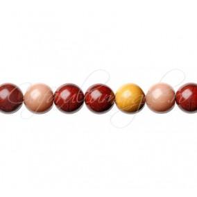 Jasp mookait sferic nefatetat 8 mm