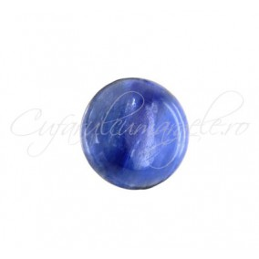 Kyanite cabochon rotund 12mm