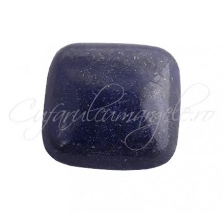 Lapis lazuli cabochon patrat 20mm