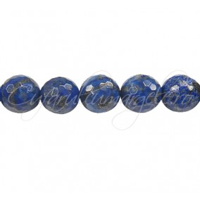 Lapis lazuli natural sferic fatetat 10 mm
