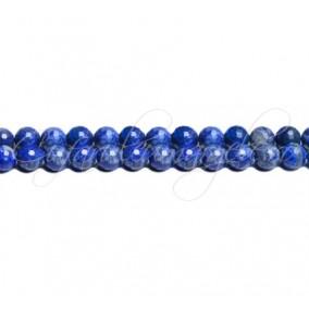 Lapis lazuli natural sferic fatetat 6 mm