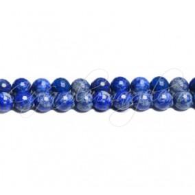 Lapis lazuli natural sferic fatetat 8 mm