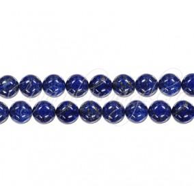 Lapis lazuli natural sferic lucios 4 mm