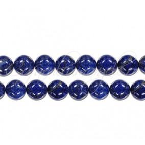 Lapis lazuli natural sferic lucios 6 mm