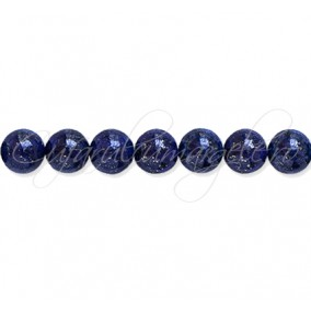 Lapis lazuli vopsit sferic lucios 10 mm