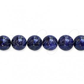 Lapis lazuli vopsit sferic lucios 12 mm