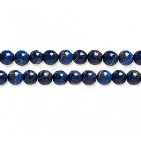 Lapis lazuli vopsit sferic lucios 4 mm