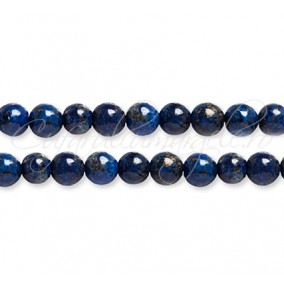 Lapis lazuli vopsit sferic lucios 6 mm