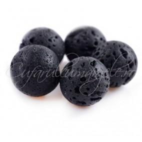 Lava neagra sferic 20mm