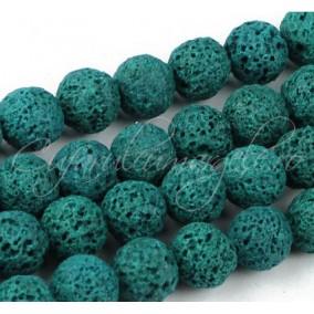 Lava turcoaz sferic 10mm