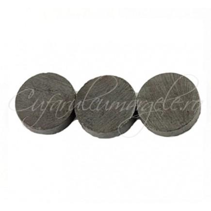 Magnet gri 17,5 mm