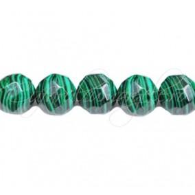 Malachit sinteza sferic fatetat 12 mm