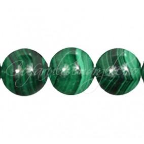 Malachit sinteza sferic nefatetat 16 mm