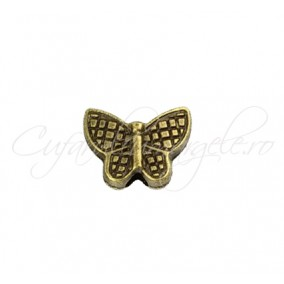 Margele bronz fluture 10x13 mm