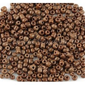 Margele de nisip 2 mm maro ciocolata