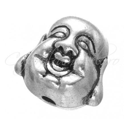 Margele metalice argint tibetan cap Buddha 10x10mm