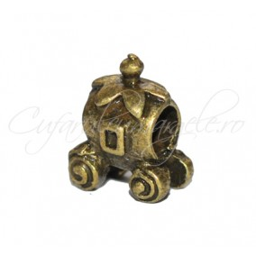 Margele metalice bronz caleasca 10mm