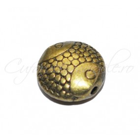 Margele metalice bronz peste 10x4mm