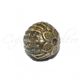 Margele metalice bronz sfera 10mm