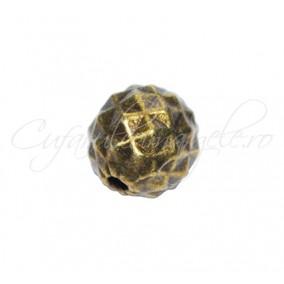 Margele metalice bronz sfera Imax 10 mm
