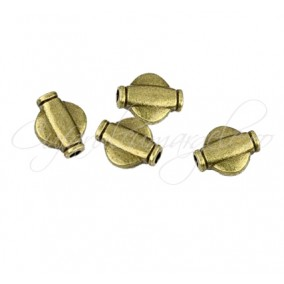 Margele metalice bronz spacer 10x8 mm